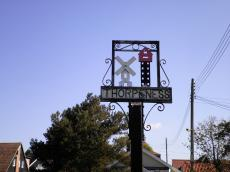 Thorpeness Sign